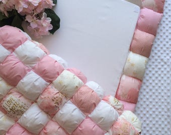 Baby changing mat-Changing pad-Puck daddy-Bubble Quilt-Wickelauflage-Wickelunterlage
