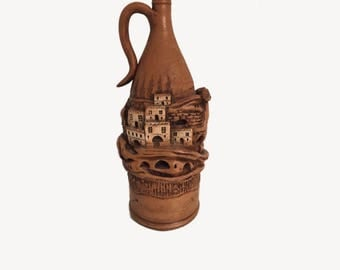 Turkish Hand Made Earthenware  Pottery Vase 45cm high