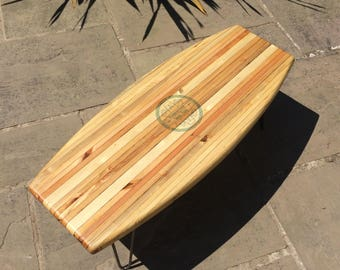 Wakeboard Coffee Table handmade from reclaimed pallets