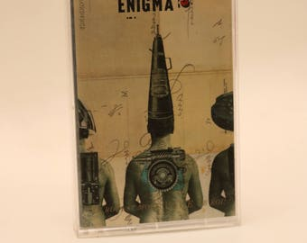 ENIGMA 1990s Cassette Tape Music Vintage Record Worldbeat New Age Downtempo Electronica Ambient Experimental Old School Trance Rave Club