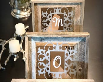 Mirror Frame - Mirror - Wall Mirror - Mirror Decor - Mirror Decorations - Rustic Mirror - Wood Mirror - Salvaged Wood