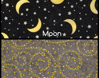 To The Moon & Back by Timeless Treasures Collection, Half Yard Cut