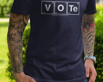 Vote For Science | Men's Unisex Make America Smart Again Science T-Shirt | Indivisible Geek Resistance Political T-Shirt and Clothing
