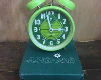 Junghans West German 1970's Wind Up Alarm Clock