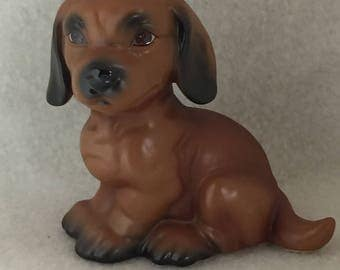 Goebel Small Brown Puppy (#165)