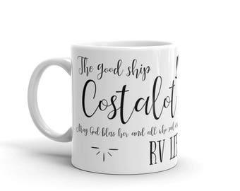Costalot I Love RV Mug. Perfect camping homeware RV accessories