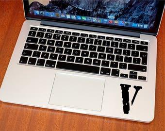 Vlone Decal - Vlone Sticker - Hype - Kanye West - Macbook Stickers - Car Decals