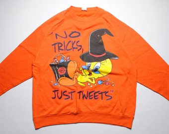 vintage Tweety Pie by Looney Tunes made in USA Just Tweets Size M men's