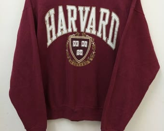 Vintage HARVARD University//Sweatshirt// Size XL(20) //Made In USA