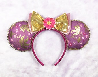 Handcrafted Rapunzel Tangled Inspired Mouse Ears!