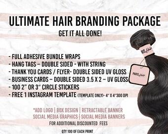 Ultimate Hair Branding Package