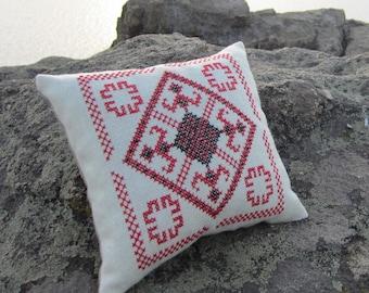 Old Slavic Pagan amulet embroidery , goddess Makosh