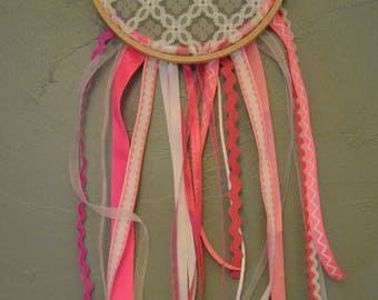 Mini lace dream catcher / dreamcatcher