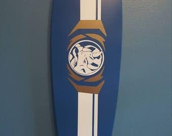 Blue Ranger Longboard