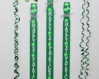 St Patricks Day Sign,St Patricks Day Decor,Holiday Decoration,Wood Sign,Four Leaf Clover,Holiday Sign,Wood Wall Art,Wood Wall Decor,Shamrock
