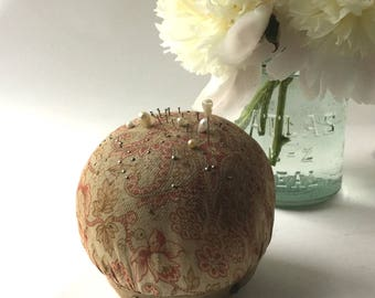 Antique Rare Pin Cushion Made By T & B Hat Carrier Co., Patented Feb. 7, 1905