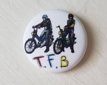 The Front Bottoms Motorcycle Club Button