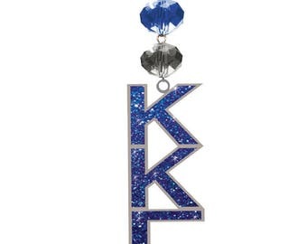 KKG Logo Bling - Kappa Kappa Gamma Sorority MAGNETIC Ornament / Kappa Kappa Gamma Decor/Kkg Ornament/Kappa Kappa Gamma Dorm Room