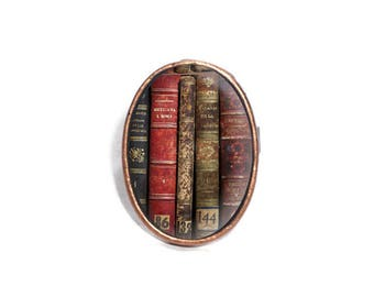 Book Spine Ring, Book Ring, Reader Ring, Book Lover Ring, Literature Ring, Reader Gift, Librarian Ring, Reader Ring