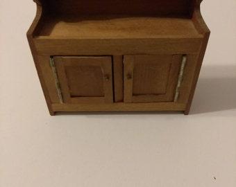 Vintage B. Shackman Miniature Dollhouse Buffet table