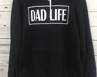 Dad Life Hooded Sweatshirt