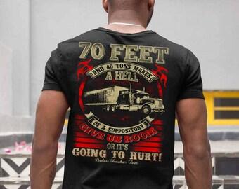 Funny trucker tshirt, Gift for trucker, Funny, Trucker tshirt, Trucker shirt