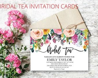 Bridal Tea Party Invitation, Suplime Bridal Tea Invite Template,  Suplime Bridal Tea Bridal Tea, Bridal Tea Party, INSTANT DOWNLOAD, BR-S04
