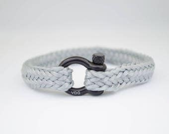 GREY & black | Sailing bracelet - Custom and Handmade