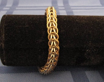 Barrelled Chainmaille Bracelet