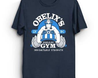 Indomitable Strength - Gallic Gym T-Shirt