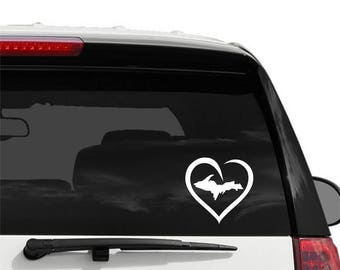 Heart Decal Etsy - Vinyl decals for your car