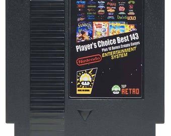 Nintendo NES Multicart Best 153-in-1: MegaMan 1-6, Little Samson, DuckTales 2, Zelda 1-2, SMB 1-3, Tetris 1-2  *FREE shipping