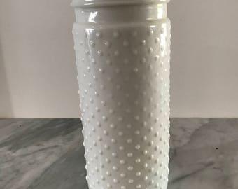 Milk Glass Cylinder
