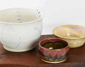 """small bowl. High fire stoneware.  4""""Wide  2"""" Tall"""