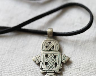 Ethiopian Coptic Cross, pendant, necklace, African, Christian