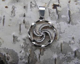 The Symbol of Rod Pendant. Slavic jewelry. Slavic talisman. Pagan jewerly. Slavic amulet. Ancient jewerly.