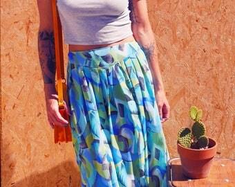 Vintage patterned skirt