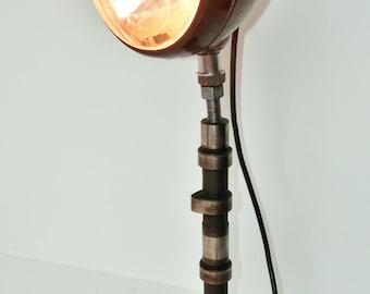 Handmade Converted KC Daylighter Desk Lamp - Lighting - Industrial - Automobilia - Contemporary - Cam Shaft Table Light