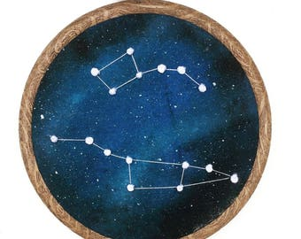Ursa Major and Ursa Minor Constellation Hoop