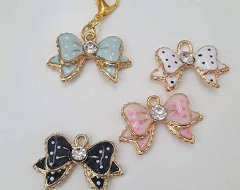 Gorgeous Bow Planner Charms