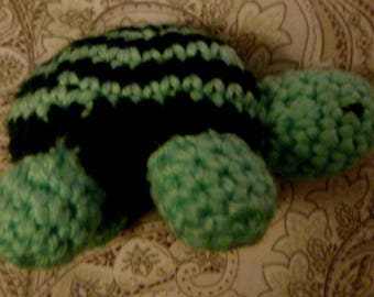 turtle crocheted Amigarumi toy