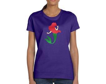 The Little Mermaid - Princess Ariel - Mermaid Shirt - Disney Women's Shirt - Disney T Shirt