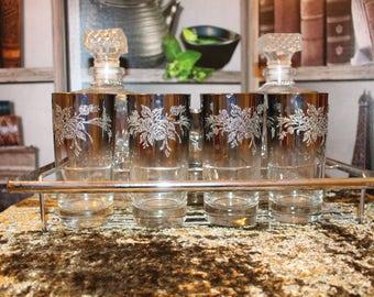 Silver Fade 12 Piece Bar Set
