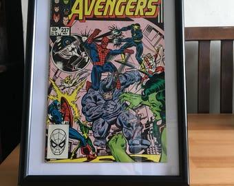 Original Framed Avengers Comic November 1983