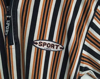 Retro Striped Sport Tee