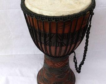 Djembe Drum, njembe drum, music instrument, africa djembe drum, kenya djembe drum, hand carved djembe drum, handmade drum, wooden drum