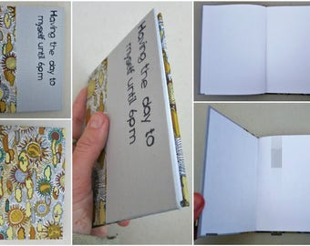 Original handmade notebook