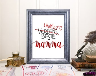 Universets beste mamma