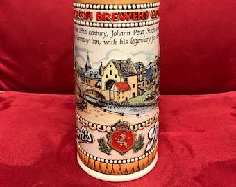 Stroh's Fire-Brewed Beer Stein Heritage Series II #158416