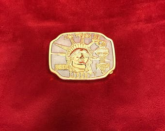 1986 Statue of Liberty 100 Year Belt Buckle